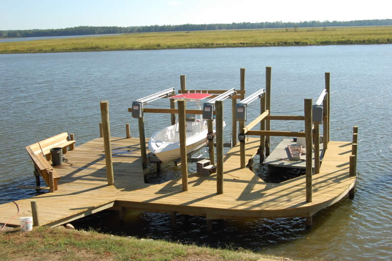 Dock Design Ideas Waterfront Log Cabin. 1000 Images About Boat